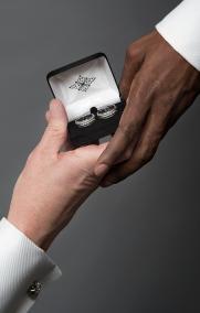 Rings. Wedding Proposal. Photo by Alina Oswald.