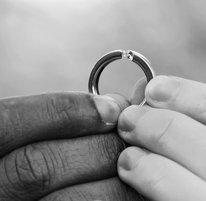 Engagement Photography. The Ring.