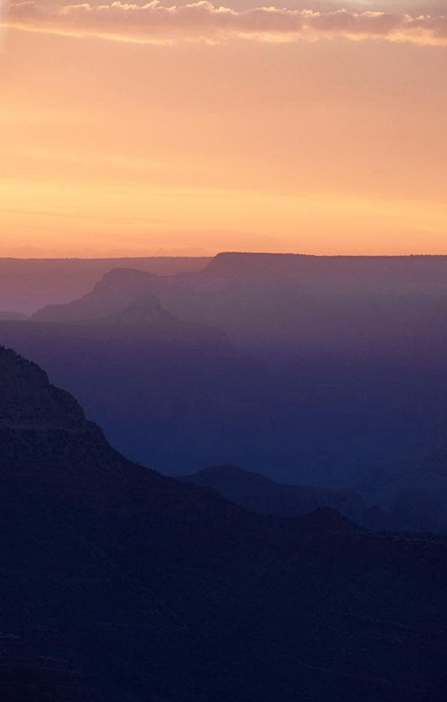 Grand Canyon Sunset.