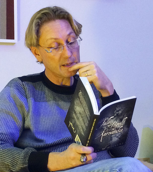 Swedish author Hans Hirschi at the LGBT Center in NYC