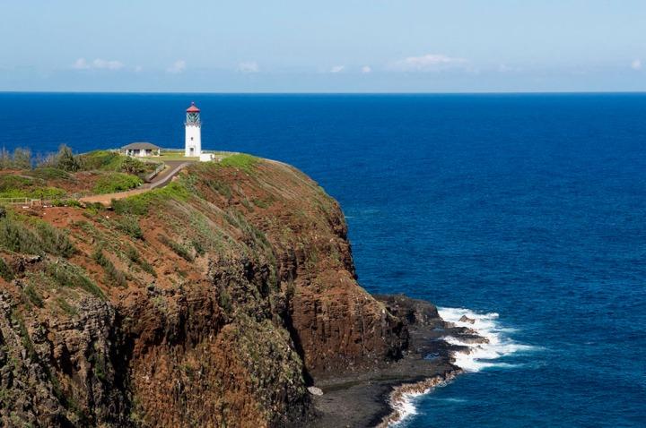 SKilauea Lighthouse. Hawaii. Photo by Alina Oswald.