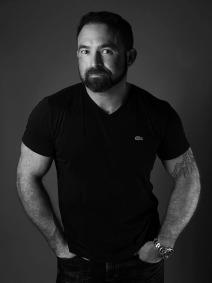 Man studio portrait. Photo by Alina Oswald.