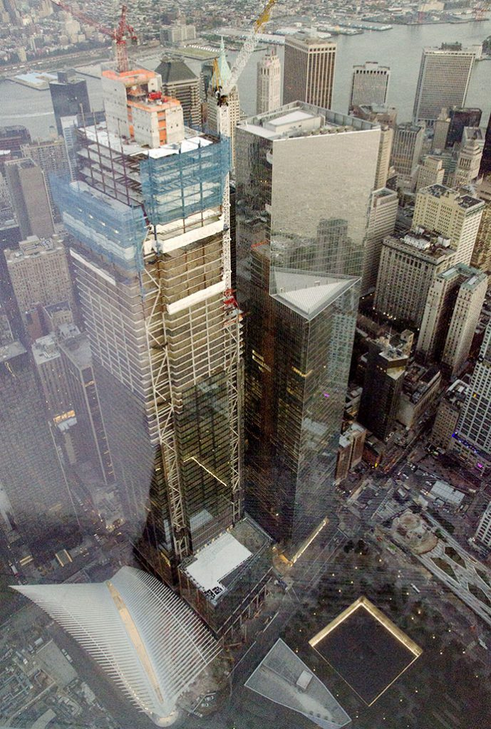 Views from One WTC Observatory