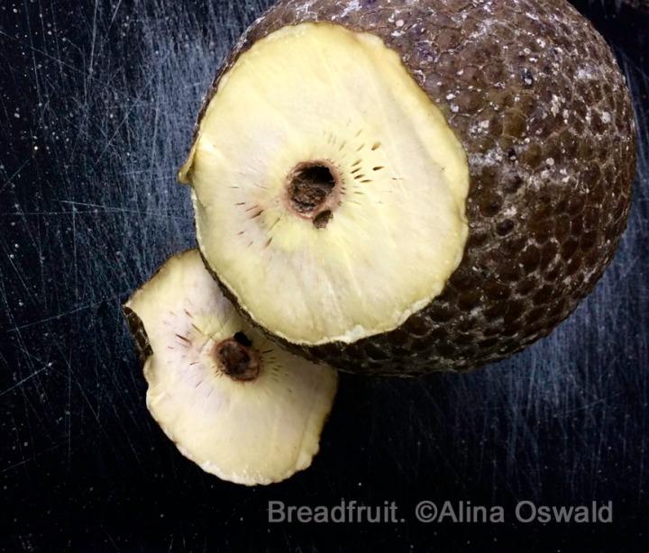 cooking breadfruit