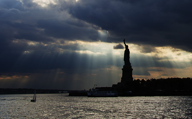 Miss Liberty. Photo by Alina Oswald.