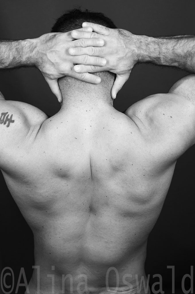 Man's Back at You. Photo by Alina Oswald.