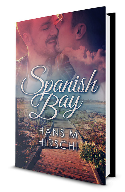 Spanish Bay, by Hans Hirschi. Book cover.