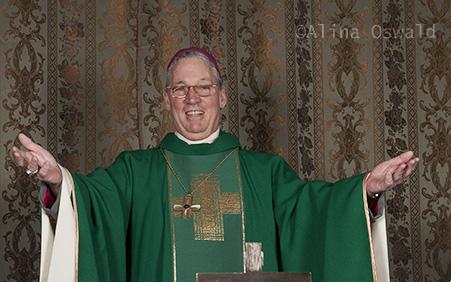 Bishop George at St Francis Church