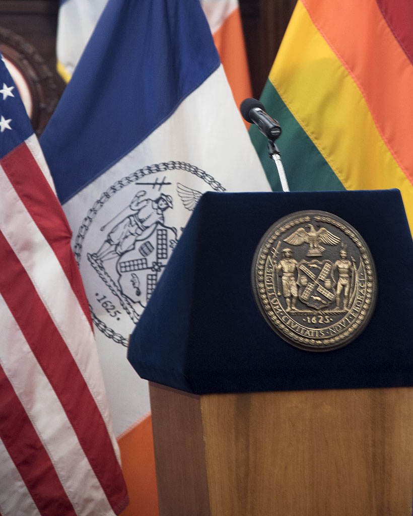 Attending the Celebration of LGBT Pride at City Hall, NYC