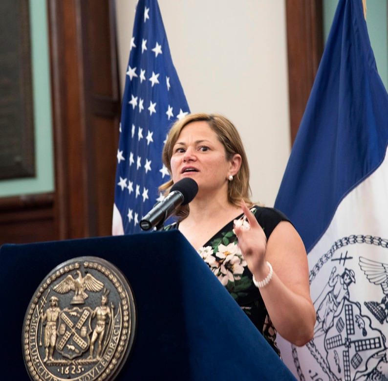 Celebration of LGBT Pride event at the Council Chambers, City Hall, NYC, honoring Jennifer Flynn, Barbra Herr, Ed Garcia Conde, Krystal Portalatin, Charles Rice-Gonzalez, and Melissa Sklarz, and featuring SAG-AFTRA member and celebrity host Ron B. as emcee. Wed, June 8, 2016, 5.30pm