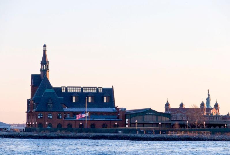 LSP terminal, Lady Liberty, Ellis Island. ©Alina Oswald.