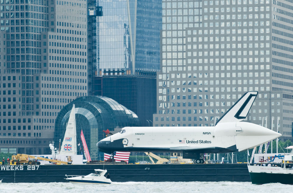 Shuttle Enterprise. Photo by Alina Oswald.