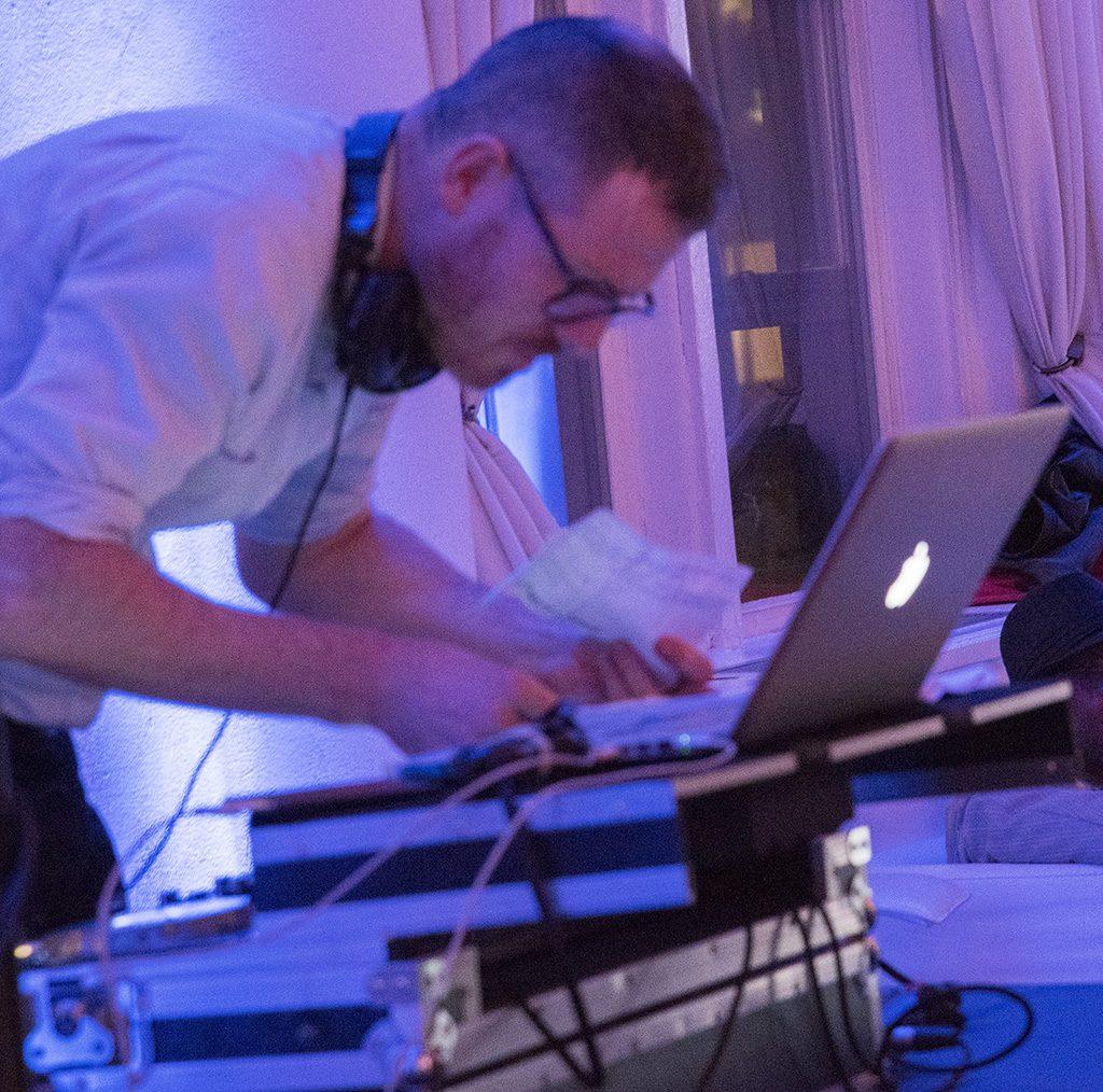 Mr. DJ. Wedding. ©Alina Oswald.