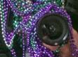 Camera Beads. Self-Portrait by Alina Oswald.