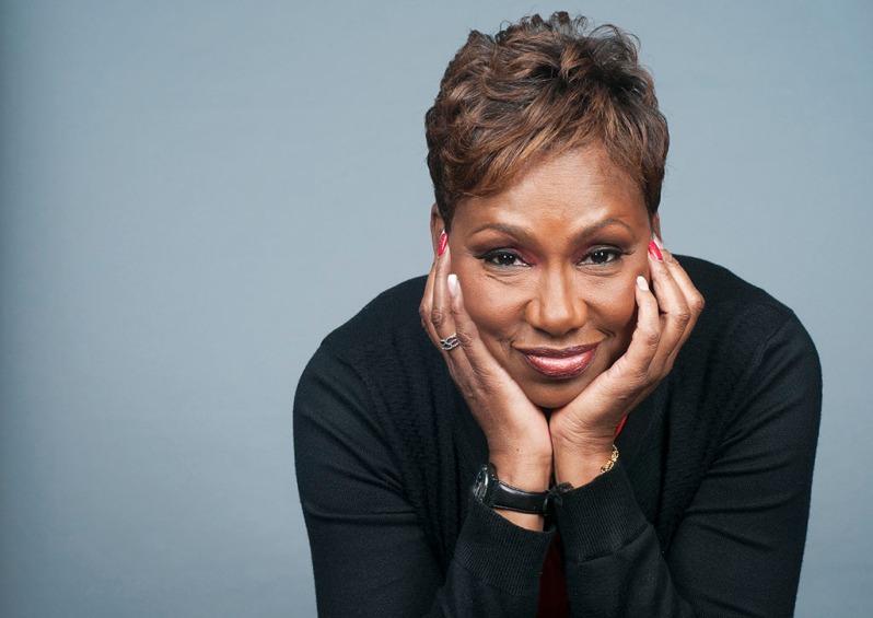 HIV Activist Maria Davis photographed by Alina Oswald for A&U Magazine.