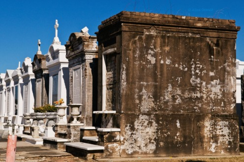 Above the Ground. New Orleans Cemetery. Photo by Alina Oswald.