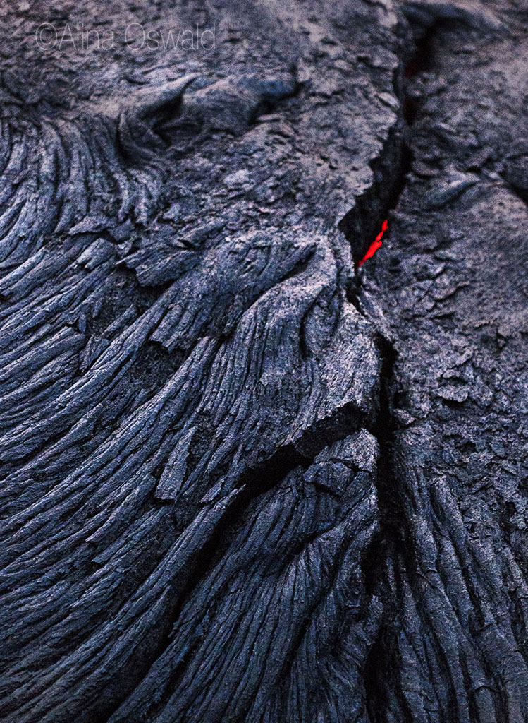 Molted Lava Faces. Lava Photography by Alina Oswald.