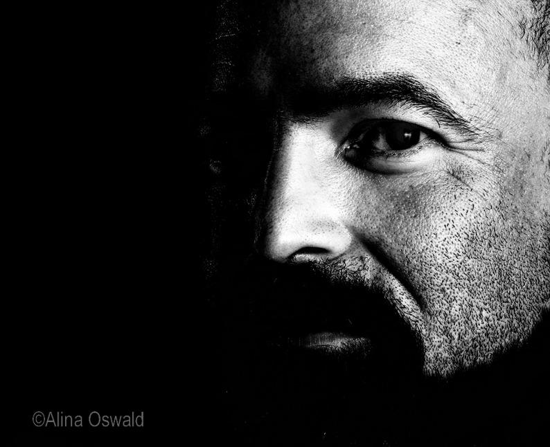 Man Portrait by Alina Oswald.