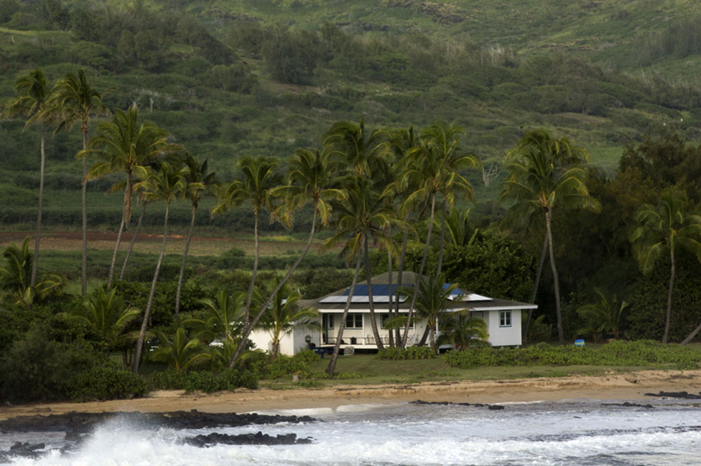 Eco friendly house. Hawaii. Photo by Alina Oswald.