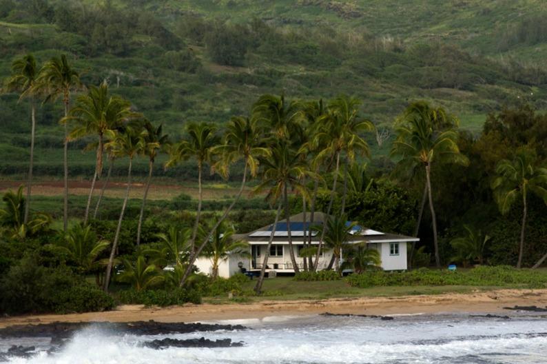 Eco friendly house. Hawaii. Photo by Alina Oswald.