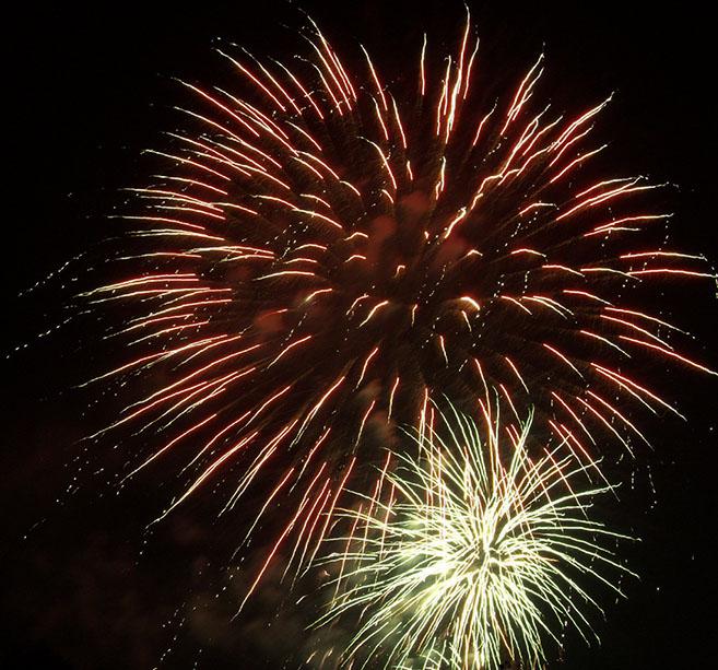 Fireworks. Photo by Alina Oswald.