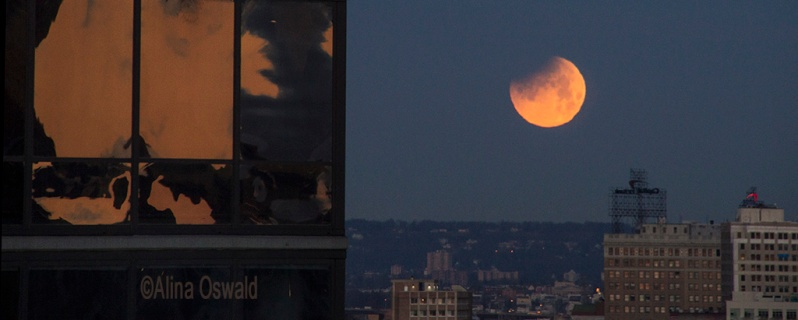 Lunar Eclipse NYC January 31, 2018