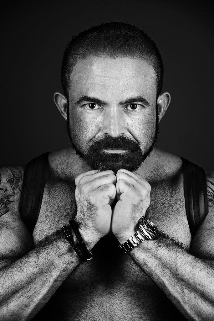 Omar Garcia. Photographed for A&U Magazine by Alina Oswald.