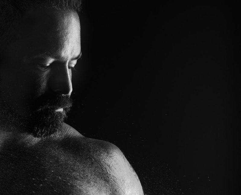 Photographing Men. Studio Portrait. Photo by Alina Oswald. All Rights Reserved.
