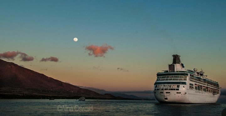 Crusing in Hawaii. Photo by Alina Oswald.