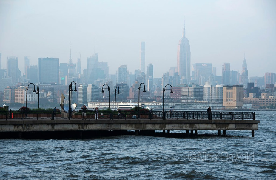 Midtown Manhattan and the Pier. Photo by Alina Oswald.