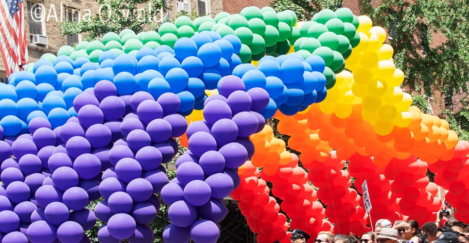 NYC Pride 2018. Photo by Alina Oswald