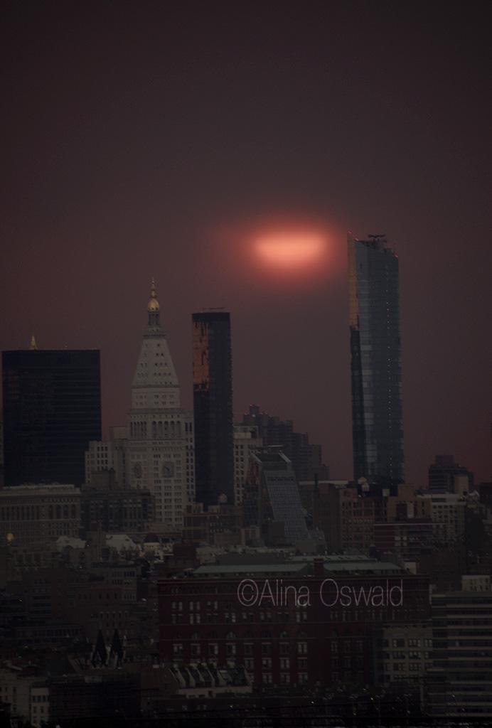 NYC Sunrise July 2018 clouds