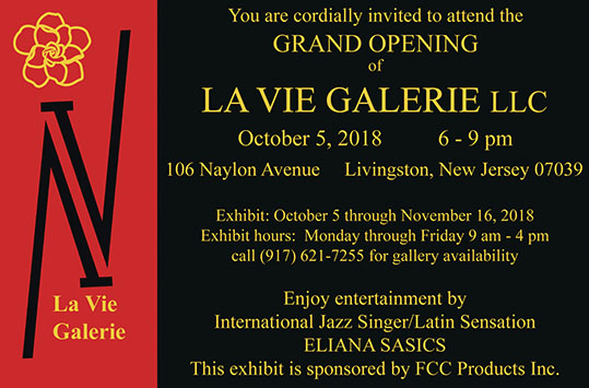 La Vie Galerie - grand opening