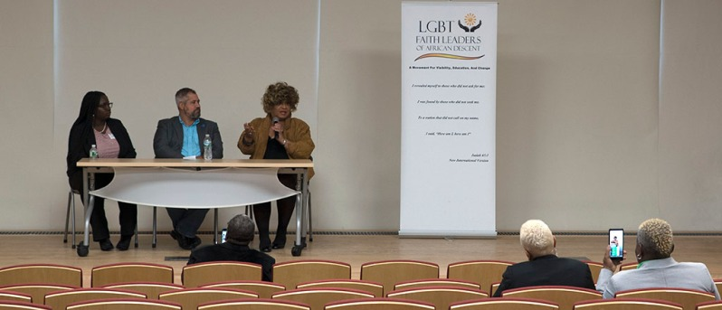 LGBTQ+ Community and The New Political Landscape Symposium. Photo by Alina Oswald.
