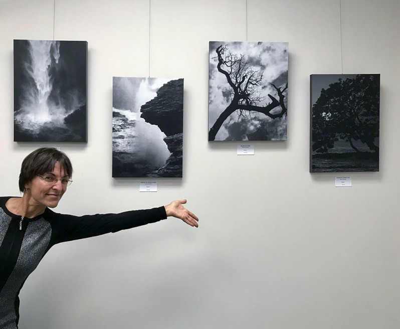 My nature photography at La Vie Galerie show.