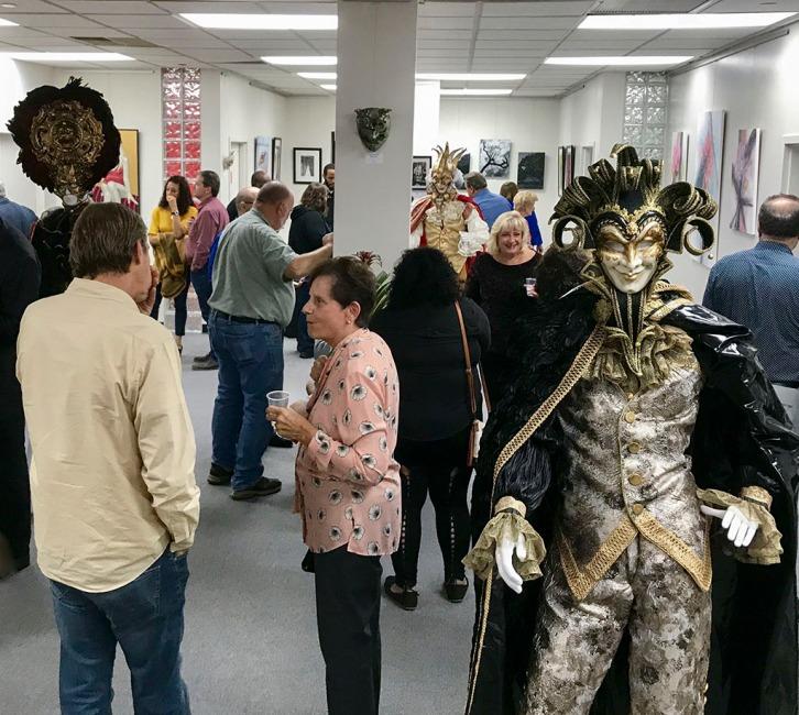 La Vie Galerie LLC - opening night.
