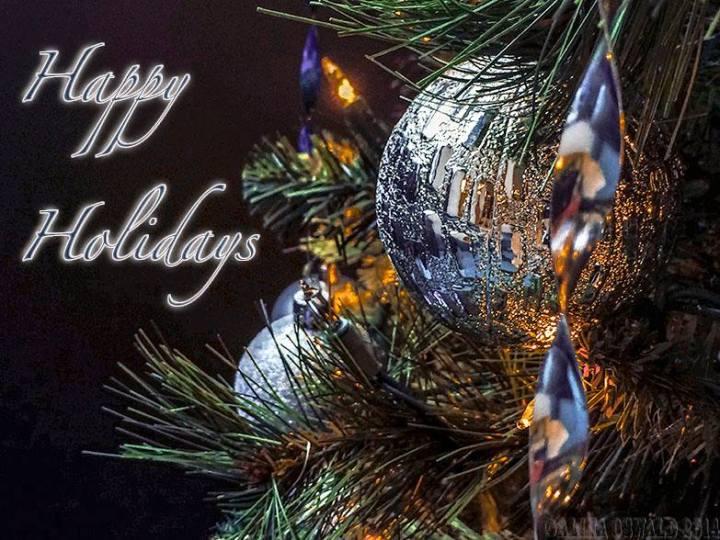 Happy Holidays! card designed by Alina Oswald