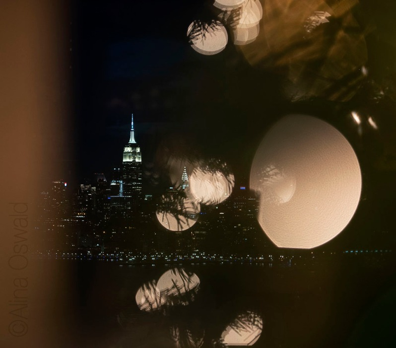 Looking at a NYC Christmas. Happy Holidays! © Alina Oswald. All Rights Reserved.