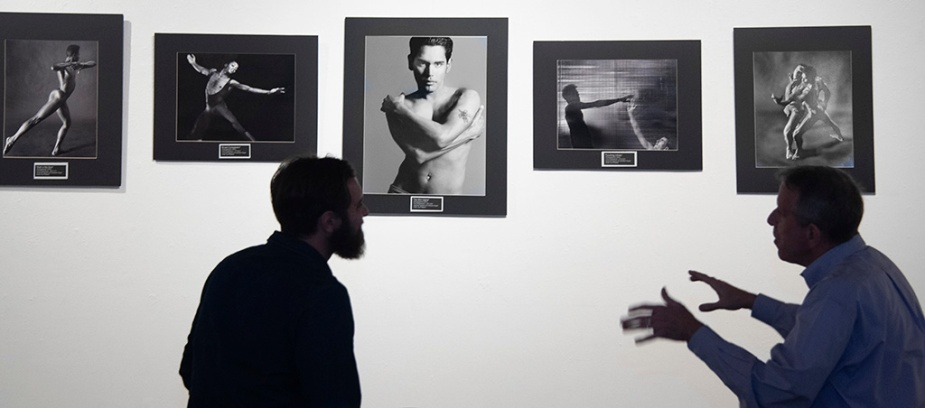 Let's Talk About Art at Kurt Weston's show, Remember: An AIDS Retrospective. Photo by Alina Oswald.