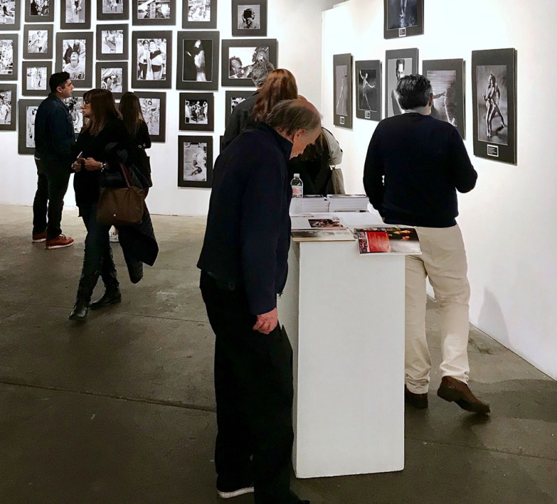 At the opening night of Kurt Weston's show, REMEMBER: An AIDS Retrospective, on WAD 2018 at OCCCA. Photo ©Alina Oswald.