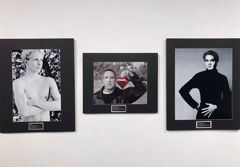 Kurt Weston photography as displayed at the OCCCA show Remember: An AIDS Retrospective (12/1/18 - 12/29/18)