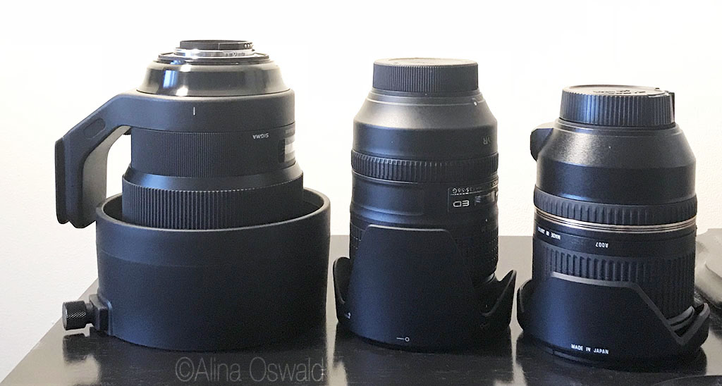 Sigma 105mm f/1.4 for Nikon lens comparison. Photo by Alina Oswald.