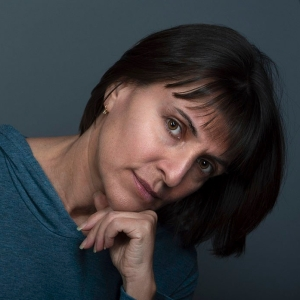 Alina Oswald. A self-portrait.