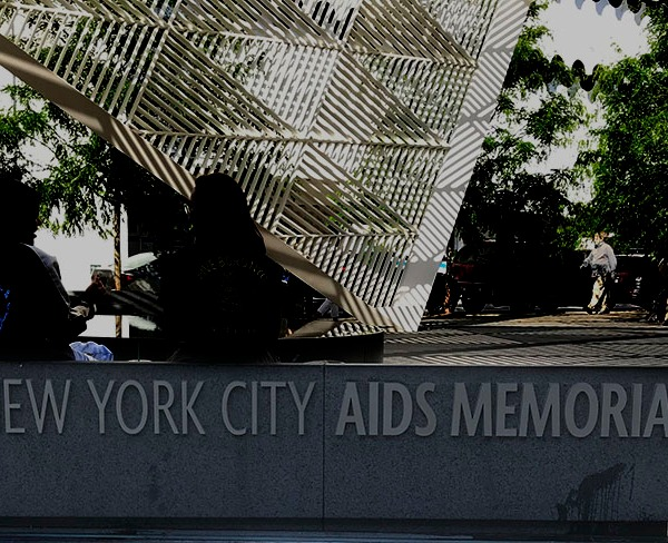 NYC AIDS Memorial. Photo by Alina Oswald.