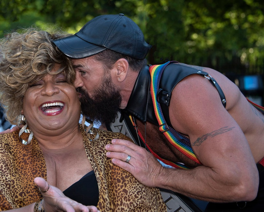Ron B. at Brooklyn Pride 2019
