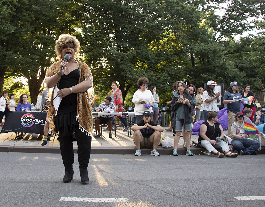 Ron B at Brooklyn Pride 2019