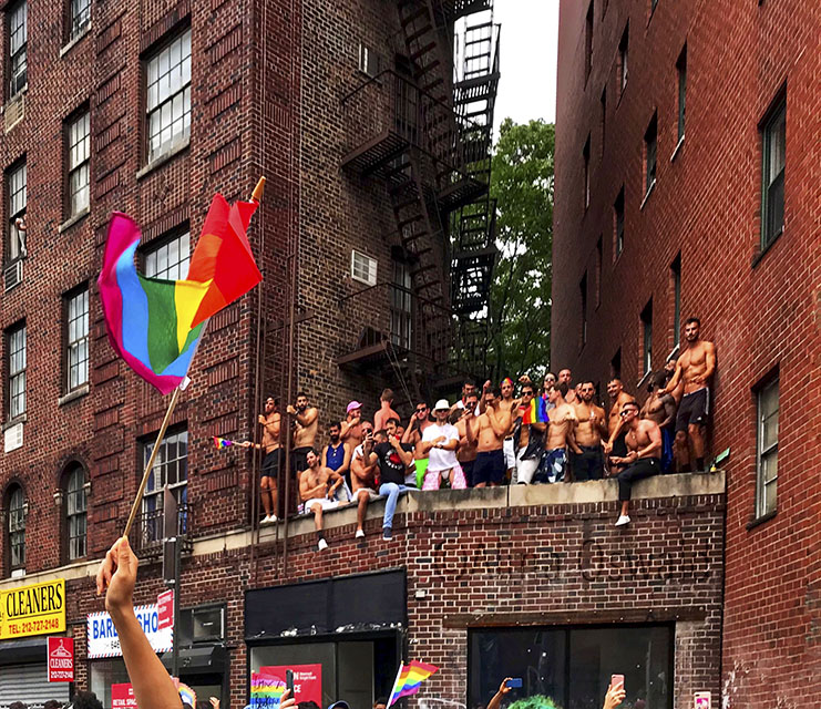 World (NYC) Pride 2019. Photo by Alina Oswald