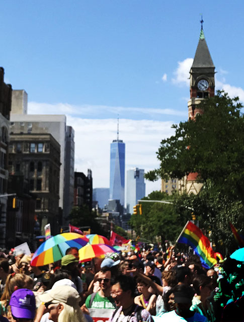 Reclaim Pride March, in NYC. Photo by Alina Oswald.