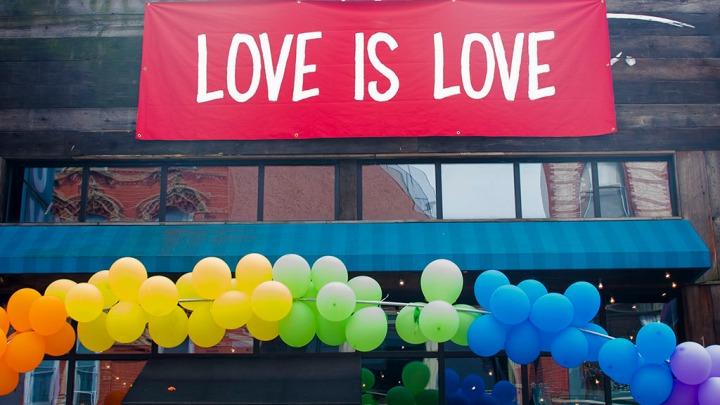 Love is Love. Celebrating Jersey City Pride.