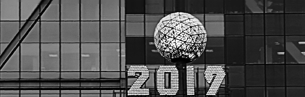 Times Square in b&w. Photo by Alina Oswald.
